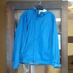 The North Face raincoat unisex size XL